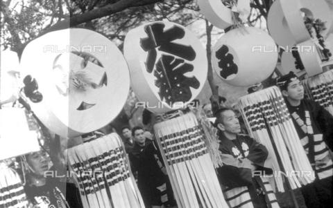 MFV-S-V00133-0039 - Traditional Japanese festival - Date of photography: 1959-1963 - Fosco Maraini/Gabinetto Vieusseux Property©Fratelli Alinari