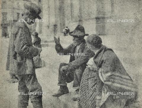 MLD-F-000093-0000 - Discussione animata: gruppo di anziani - Data dello scatto: 1920-1929 - Archivi Alinari, Firenze