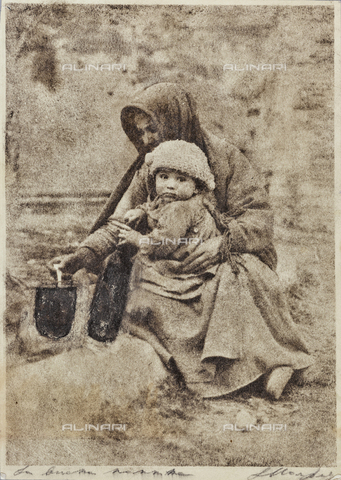 MLD-F-000142-0000 - La buona mammina: madre e figlio - Data dello scatto: 1920-1929 - Archivi Alinari, Firenze