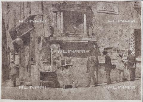 MLD-F-000256-0000 - Via Baccina a Roma - Data dello scatto: 1920-1929 - Archivi Alinari, Firenze