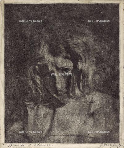 MLD-F-000311-0000 - Bimba d'Abruzzo - Data dello scatto: 1920-1929 - Archivi Alinari, Firenze