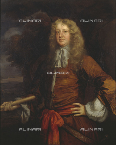 NMM-S-000BHC-2522 - Portrait of Admiral Sir George Ayscue (1616-1671), oil on canvas, Peter Lely (1618-1680), National Maritime Museum, Greenwich, London - National Maritime Museum, London / Alinari Archives