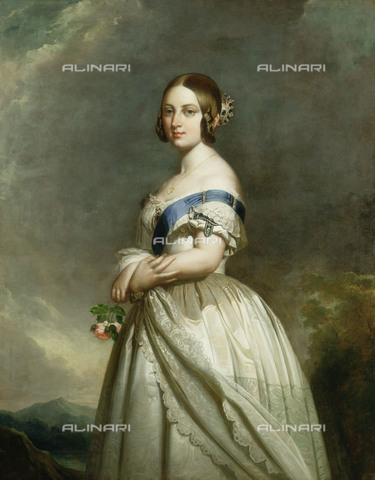 NMM-S-000BHC-3071 - Portrait of Queen Victoria of England, National Maritime Museum, Greenwich, London - National Maritime Museum, London / Alinari Archives
