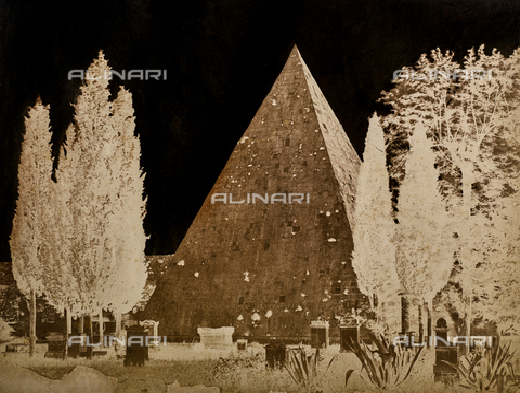 NVQ-F-000119-0000 - Caius Cestius Pyramid, Rome