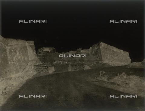 NVQ-F-000129-0000 - Veduta di rovine dopo la battaglia della Repubblica romana, Roma - Data dello scatto: 1849 - Archivi Alinari, Firenze