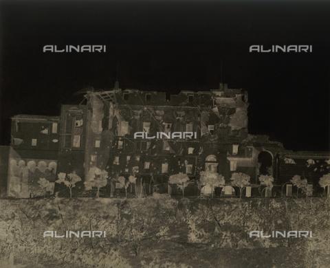 NVQ-F-000130-0000 - Veduta delle rovine del Casino Savorelli, Gianicolo, Roma - Data dello scatto: 1849 - Archivi Alinari, Firenze