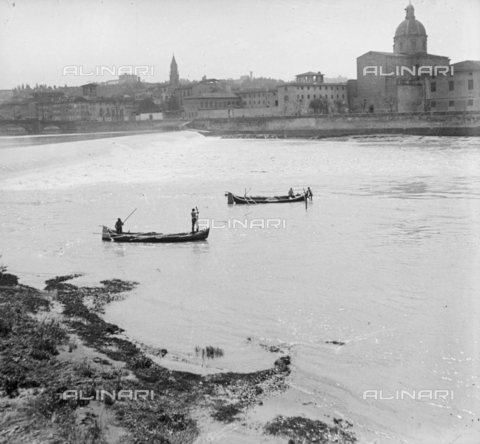 NVQ-S-002202-0010 - View of the Church of San Frediano in Cestello from Lungarno Amerigo Vespucci in Florence - Date of photography: 1935-1945 ca. - Alinari Archives, Florence