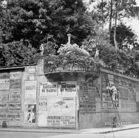 NVQ-S-002202-0028 - Via Cavour in Florence - Date of photography: 1931 ca. - Alinari Archives, Florence