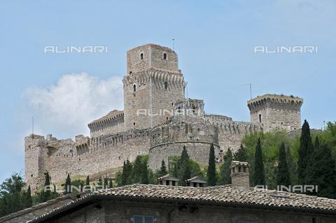 OBN-F-000686-0000 - View of Rocca Maggiore in Assisi - Date of photography: 06/2012 - Nicolò Orsi Battaglini/Alinari Archives, Florence