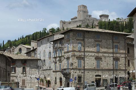 OBN-F-000687-0000 - View of Rocca Maggiore in Assisi - Date of photography: 06/2012 - Nicolò Orsi Battaglini/Alinari Archives, Florence