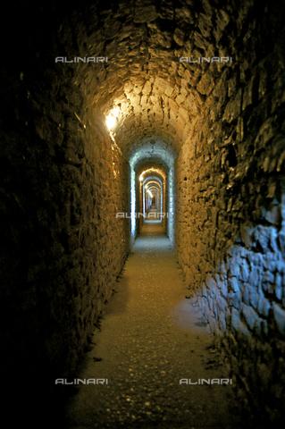 OBN-F-000691-0000 - Interior corridor of the Rocca Maggiore in Assisi - Date of photography: 06/2012 - Nicolò Orsi Battaglini/Alinari Archives, Florence