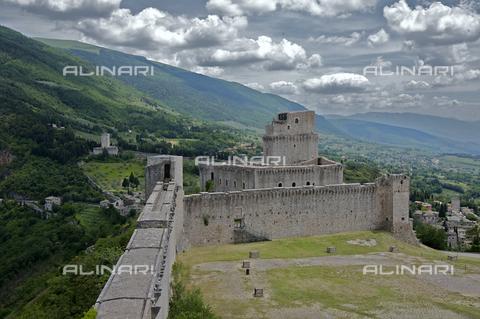 OBN-F-000692-0000 - View of Rocca Maggiore in Assisi - Date of photography: 06/2012 - Nicolò Orsi Battaglini/Alinari Archives, Florence