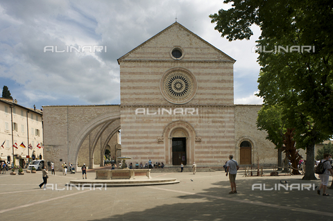 OBN-F-000697-0000 - Church of Santa Chiara in Assisi - Date of photography: 06/2012 - Nicolò Orsi Battaglini/Alinari Archives, Florence