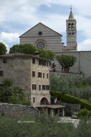 OBN-F-000699-0000 - View of Church of Santa Chiara in Assisi - Date of photography: 06/2012 - Nicolò Orsi Battaglini/Alinari Archives, Florence