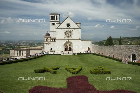 OBN-F-000701-0000 - Basilica of San Francesco in Assisi - Date of photography: 06/2012 - Nicolò Orsi Battaglini/Alinari Archives, Florence