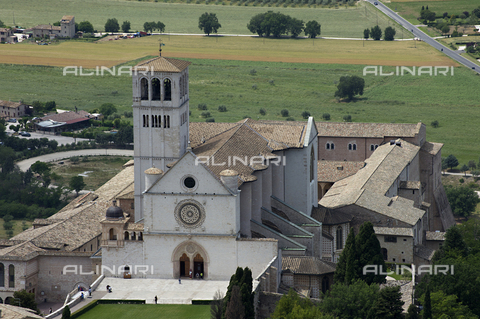 OBN-F-000704-0000 - View of Basilica of San Francesco in Assisi - Date of photography: 06/2012 - Nicolò Orsi Battaglini/Alinari Archives, Florence