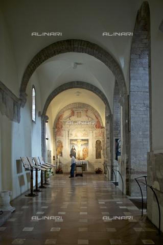 OBN-F-000707-0000 - Inside the Church of Santa Maria Maggiore in Assisi - Date of photography: 06/2012 - Nicolò Orsi Battaglini/Alinari Archives, Florence