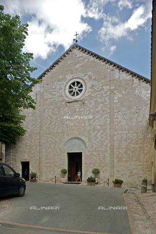OBN-F-000709-0000 - Facade the Church of Santa Maria Maggiore in Assisi - Date of photography: 06/2012 - Nicolò Orsi Battaglini/Alinari Archives, Florence
