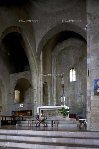 OBN-F-000711-0000 - Inside the Church of San Pietro in Assisi - Date of photography: 06/2012 - Nicolò Orsi Battaglini/Alinari Archives, Florence