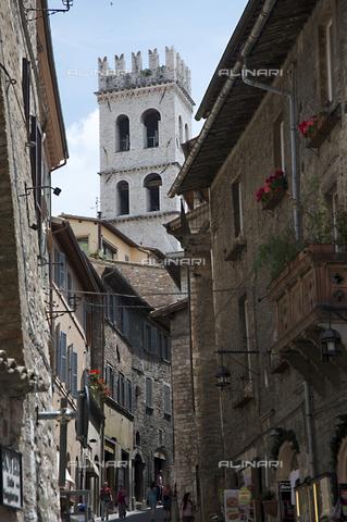 OBN-F-000717-0000 - View of Via del Seminario Assisi - Date of photography: 06/2012 - Nicolò Orsi Battaglini/Alinari Archives, Florence