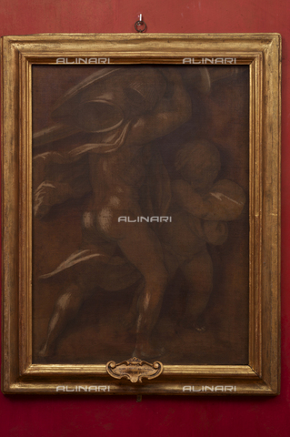 OBN-F-000747-0000 - Female figures, monochrome fresco, Andrea del Sarto (1486-1530), Galleria degli Uffizi, Florence - Date of photography: 29/09/2014 - Nicolò Orsi Battaglini/Alinari Archives, Florence, Courtesy of the Ministry of Heritage and Cultural Activities