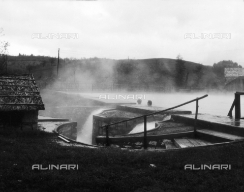 OMD-S-000355-0004 - Geysers at Larderello - Date of photography: 1964 - Fratelli Alinari Museum - donation Orioli, Florence