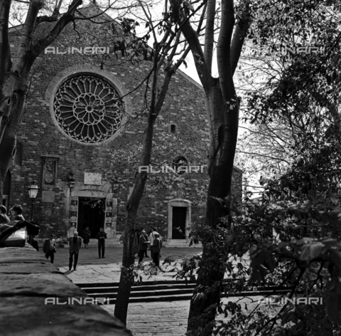 OMD-S-000429-0017 - The Cathedral of San Giusto on the Aventine Hill in Trieste - Date of photography: 25/04-01/05/1991 - Fratelli Alinari Museum - donation Orioli, Florence