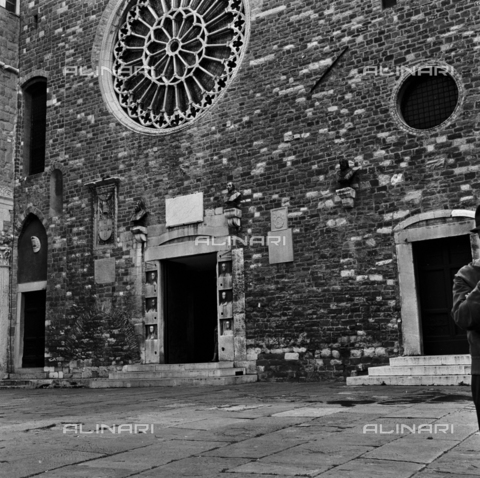 OMD-S-000429-0018 - The Cathedral of San Giusto on the Aventine Hill in Trieste - Date of photography: 25/04-01/05/1991 - Fratelli Alinari Museum - donation Orioli, Florence