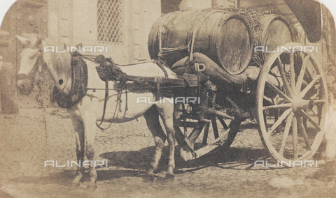 OTC-F-000027-0000 - Wine carriage - Data dello scatto: 1870 ca. - Archivi Alinari, Firenze