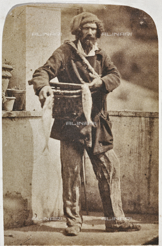 OTC-F-000059-0000 - Sellers of fish, Rome - Data dello scatto: 1852 ca. - Archivi Alinari, Firenze
