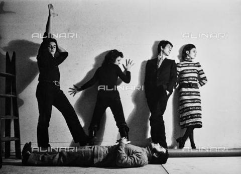 PAQ-F-000093-0000 - Ritratto di gruppo con Geri Pozzar - Data dello scatto: 1965-1975 - Archivi Alinari, Firenze