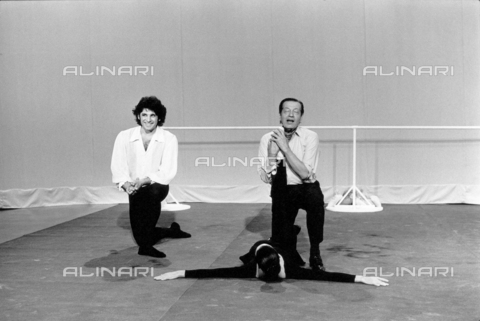PAQ-F-000519-0000 - Serge Lifar on stage - Data dello scatto: 1981 - Archivi Alinari, Firenze