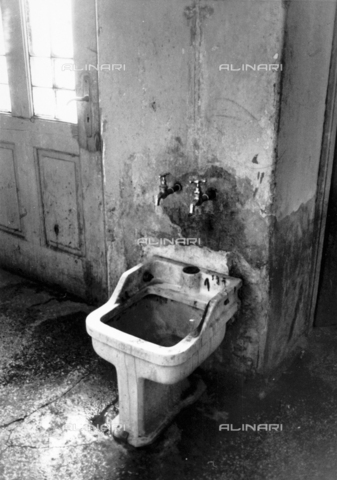 """PAQ-F-000532-0000 - """"Opening"""" of the Psychiatric Hospital: bidet - Date of photography: 1973 - Alinari Archives-Pozzar Archive, Florence"""