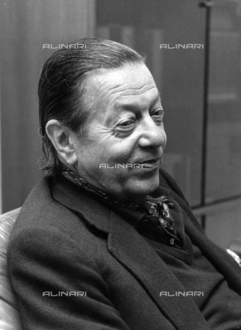 PAQ-F-000537-0000 - Portrait of Serge Lifar - Date of photography: 1970 ca. - Alinari Archives-Pozzar Archive, Florence