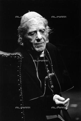 PAQ-F-000757-0000 - L'attore Gianrico Tedeschi - Data dello scatto: 1980 ca. - Archivi Alinari, Firenze