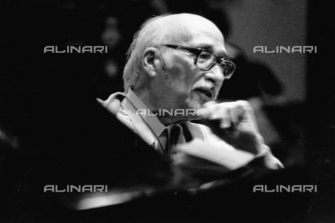 PAQ-F-000759-0000 - Il pianista Carlo Zecchi - Data dello scatto: 1980 ca. - Archivi Alinari, Firenze