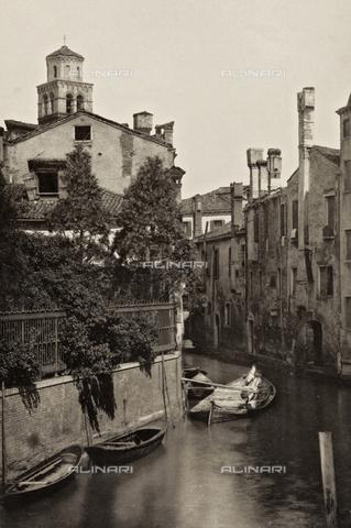 PDC-A-005940-0037 - Veduta del Rio detto della Ca' di Dio a Venezia - Data dello scatto: 1890-1895 - Archivi Alinari, Firenze