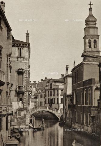 PDC-A-005940-0042 - Veduta del Rio di Sant'Antonio a Venezia - Data dello scatto: 1890-1895 - Archivi Alinari, Firenze