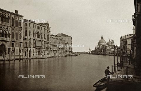PDC-A-005940-0067 - Veduta del Canal Grande a Venezia - Data dello scatto: 1890-1895 - Raccolte Museali Fratelli Alinari (RMFA)-collezione Palazzoli, Firenze
