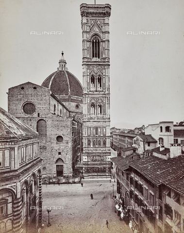 "PDC-F-000209-0000 - Bell tower of Cathedral of Santa Maria del Fiore, called ""Campanile di Giotto"", Florence"