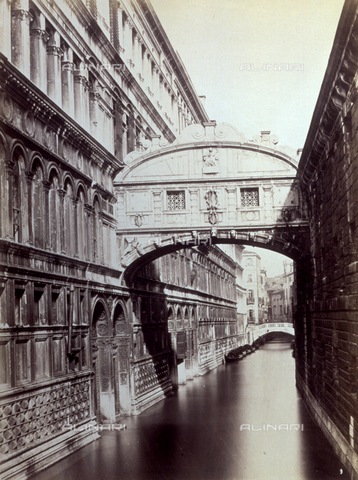 PDC-F-001621-0000 - The Bridge of Sighs, in Venice - Data dello scatto: 1877 - Archivi Alinari, Firenze
