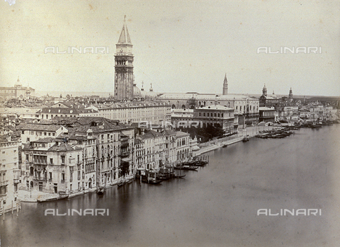 PDC-F-001641-0000 - Panorama of Venice from the Cupola of the Church of Santa Maria della Salute - Data dello scatto: 1877 - Archivi Alinari, Firenze