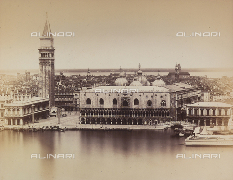 PDC-F-001647-0000 - Panorama of Venice taken from the Island of S. Giorgio - Data dello scatto: 1860 ca. - Archivi Alinari, Firenze