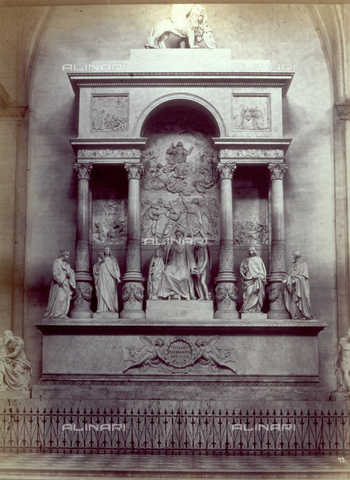 PDC-F-001651-0000 - Monument to Titian in the Church of Santa Maria Gloriosa dei Frari in Venice - Data dello scatto: 1860-1880 ca. - Archivi Alinari, Firenze