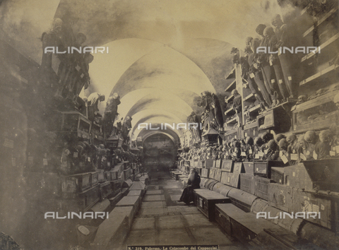PDC-F-001836-0000 - The catacomes of the Cappuccini, Palermo - Data dello scatto: 1865 - Archivi Alinari, Firenze