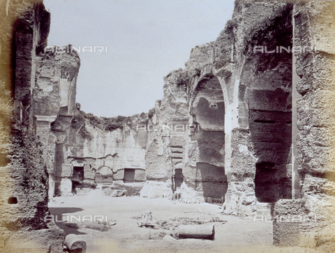 PDC-F-001839-0000 - Ruins of the Baths of Caracalla in Rome - Data dello scatto: 1860- 1880 ca. - Archivi Alinari, Firenze