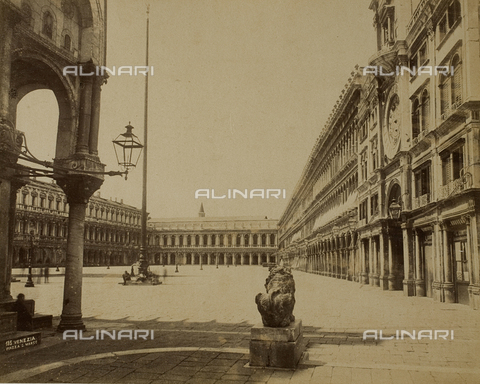 PDC-F-003291-0000 - Animated view of Piazza San Marco, Venice - Data dello scatto: 1865-1875 - Archivi Alinari, Firenze