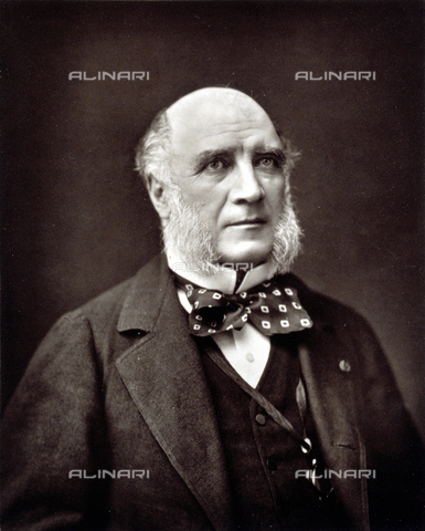 PDC-S-001528-0004 - Half-length portrait of the French politician Louis-Charles-Elie Decazes - Date of photography: 1872 -1885 ca. - Alinari Archives-Palazzoli Collection, Florence