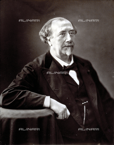 PDC-S-001528-0006 - Half-length portrait of the French naturalist Louis Figuier - Date of photography: 1872 -1885 ca. - Alinari Archives-Palazzoli Collection, Florence