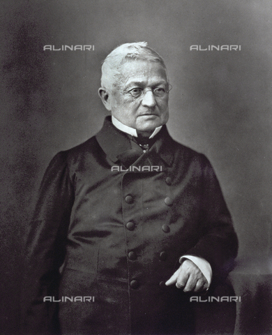 PDC-S-001528-0012 - Half-length portrait of the French statesman Adolphe Thiers in a dark double-breasted suit - Date of photography: 1871-1873 ca. - Alinari Archives-Palazzoli Collection, Florence